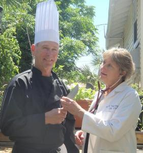 Dr. Hargove and Chef Bren Ankrum