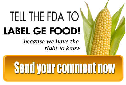 label GMO food